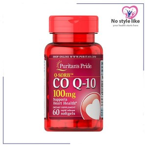 CO Q-10-100 mg 60 cap