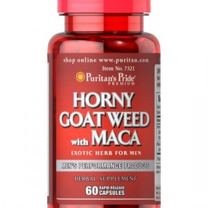 Horny Goat Weed with Maca 60 cap.