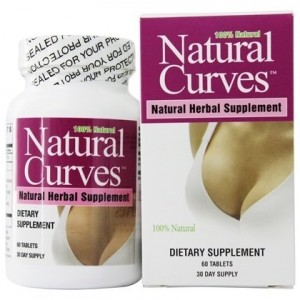 Natural Curves Breast Enhancement Natural Herbal Supplement 60 Tab.