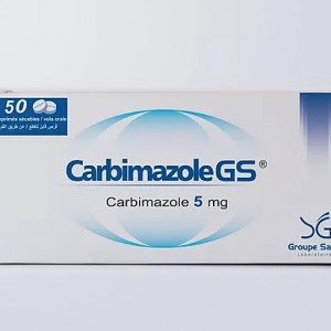 Carbimazole GS 5mg كاربيمازول