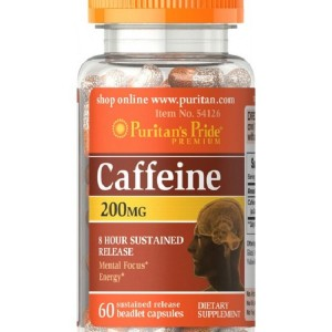 Caffeine 200 mg 8-Hour Sustained Release