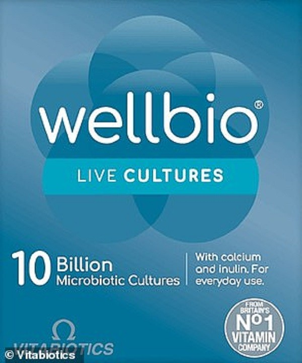 Wellbio 10 Billion Microbiotic Cultures
