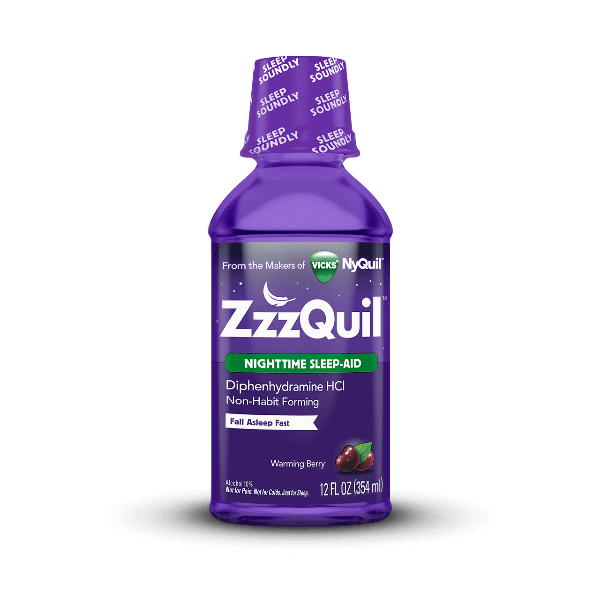 Zzzquil Warming Berry Liquid